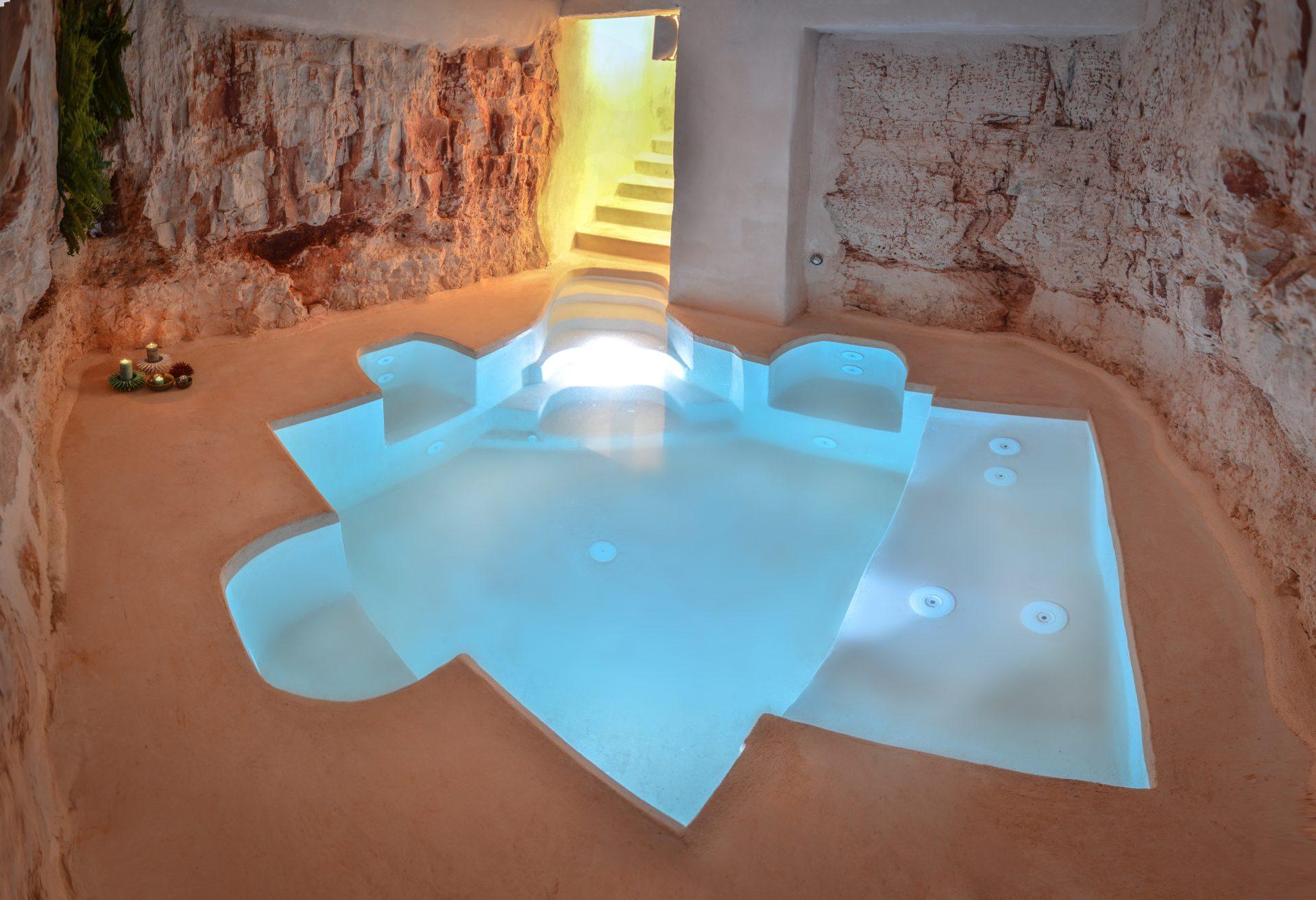 marchese houses idromassaggio in grotta